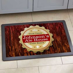 Premium Brew Personalized Bar Doormat