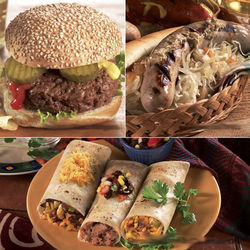 Burrito, Burger and Brat Gift Box