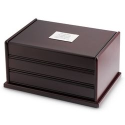 Java Jewelry Box with Atomatic Drawer