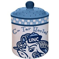 North Carolina Tar Heels Gameday Ceramic Cookie Jar