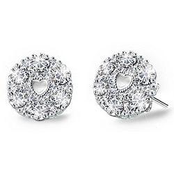I Love You Diamond Earrings