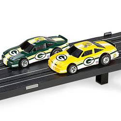 Green Bay Packers Electric Slot Car Set