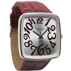 Oversized Mock-Croc Watch