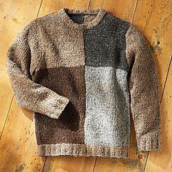Men's Irish Donegal Tweed Sweater