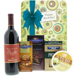 Happy Birthday with Tempting Treats Gift Box
