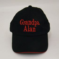 Personalized Baseball Hat with Contrast Trim