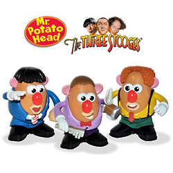The Three Stooges Mr. Potato Head Set