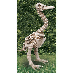 Skel-E-Goose Statue