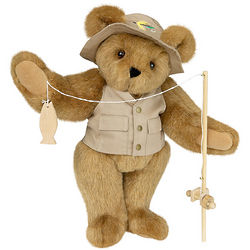 "15"" Gone Fishin' Teddy Bear"