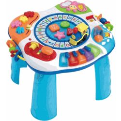 Train and Piano Toy Table