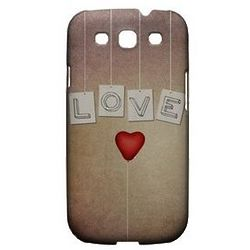 Love and Heart Balloon Slim Hard Case for Samsung Galaxy S3