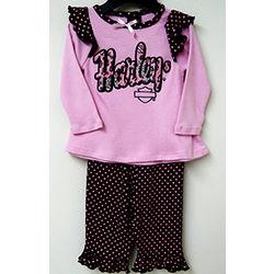Harley-Davidson Pink Pant Set