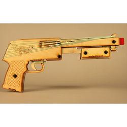 Rubber Band Pump Action Shotgun Toy