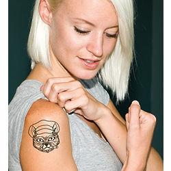 Russian Cat Tattoos
