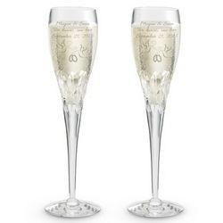 Sophia Crystal Toasting Champagne Toasting Flute Set