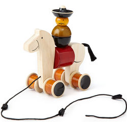 Hee Haw Pull-Along Toy