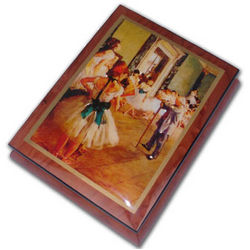 Ballerina Dance Lessons Music Box