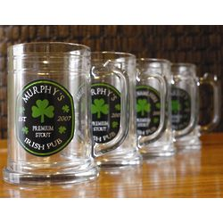Personalized Premium Stout Tankards Set