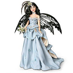 A Moment In Time Fairy Bride Doll