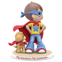 My Grandson, My Super Hero Figurine