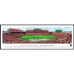 South Carolina Football 50 Yard Line Panorama Framed Print
