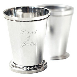 Personalized Silver Julep Cup