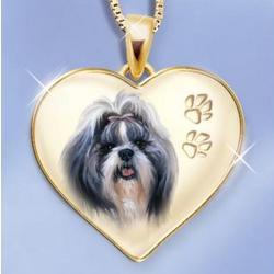 Shih Tzu Dog Pendant
