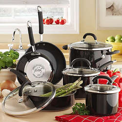 Rachael Ray 10 Piece Stainless Steel Cookware