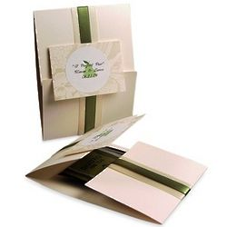 The Perfect Pear Tea Favor Card