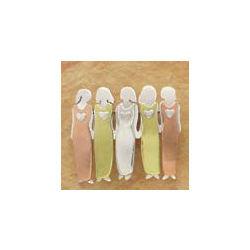 5 Sisters Pin in German Silver
