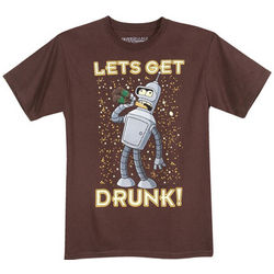 Let's Get Drunk Futurama T-Shirt