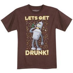 Let's Get Drunk Futurama T-Shirt