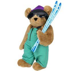 """15"""" Skier Teddy Bear"""