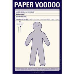 Paper Voo-Doo Pad