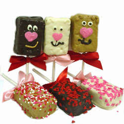 Bear Hugs and Sweethearts Rice Crispies Treats
