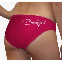 Women's Ohio State Buckeyes Team Color Swim Suit Bottom