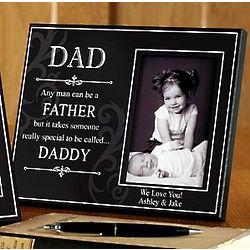 Personalized Someone Special Grandpa or Daddy Picture Frame