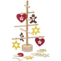 Christmas Tree with Ornaments Craft Kit