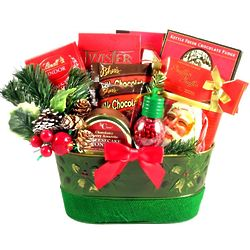 Have a Holly Jolly Christmas Sweets Basket