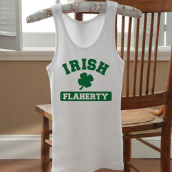 Irish Pride Personalized Women's Tank Top