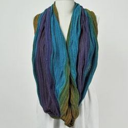 Cotton Infinity Shawl