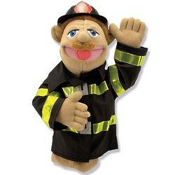 Chief Walter Blaze Firefighter Puppet