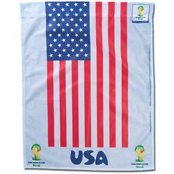 Fifa World Cup 2014 USA Vertical Flag