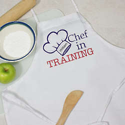 Personalized Chef in Training Youth Apron