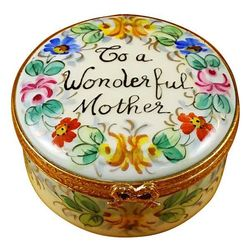 To a Wonderful Mother Limoges Box