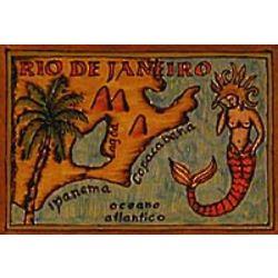 Rio De Janeiro Leather Photo Album