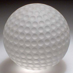 Frosted Golf Ball