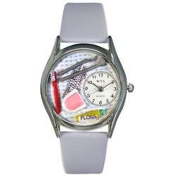 Dentist Silver Watch