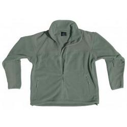 Foliage Green Polar Fleece Jacket