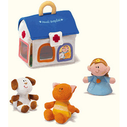 Veterinarian Plush Play Set